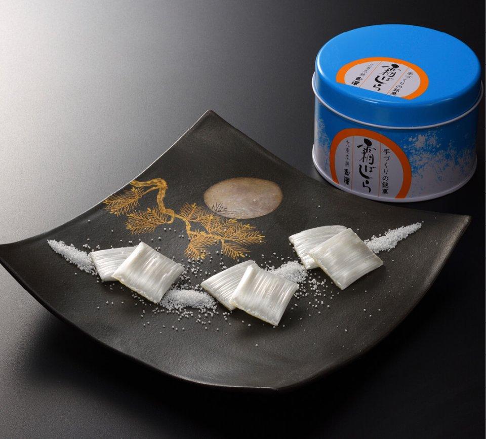 「霜ばしら」は冬期限定販売で、注文から2〜3カ月待ちの人気商品となっている