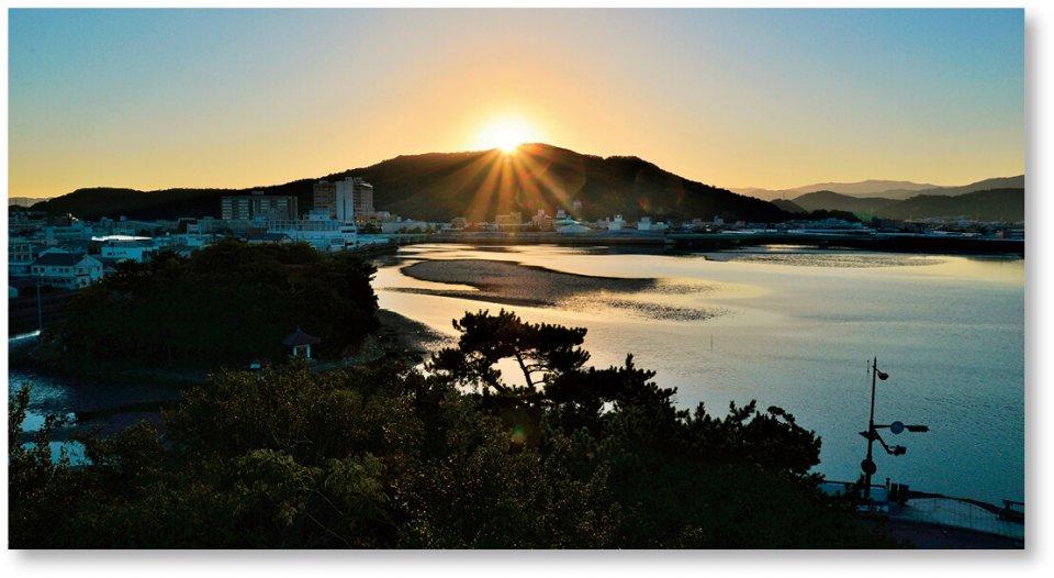 日本遺産「絶景の宝庫 和歌の浦」の干潟
