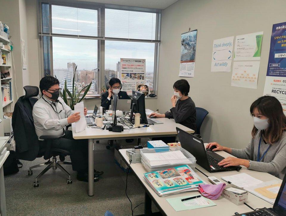 オフィスがある足立区は、東京23区で産廃業者の数が一番多く、産廃業者の集積地でもある