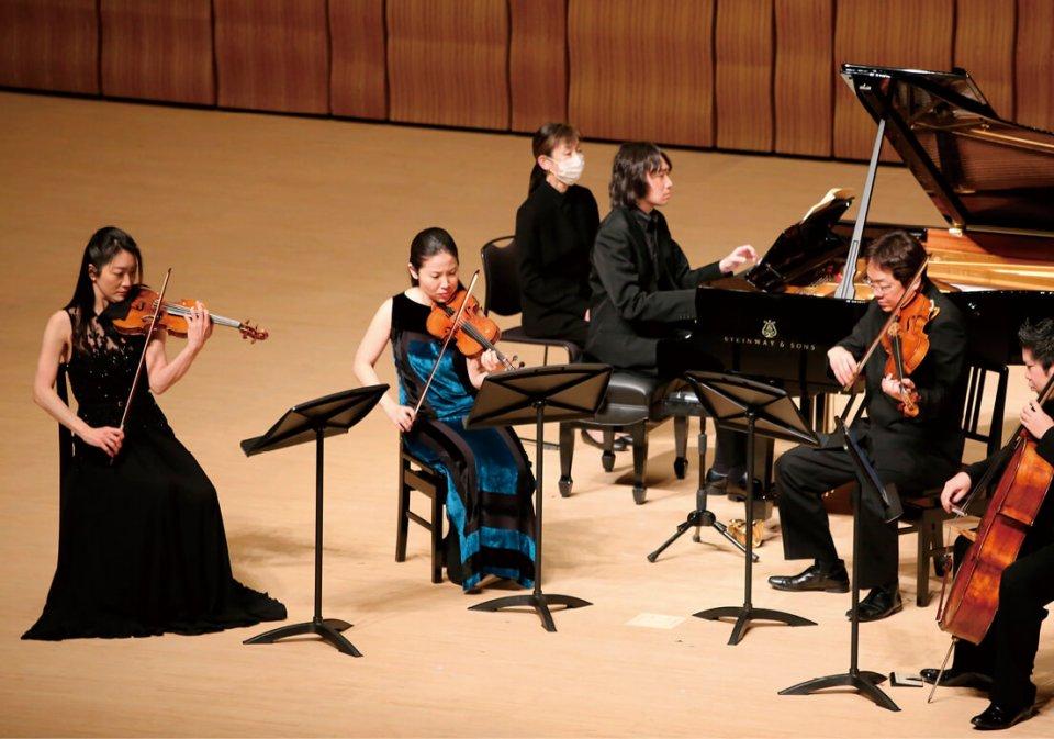 今年2月13日に釜石市民ホールで行われた東日本大震災復興応援コンサート