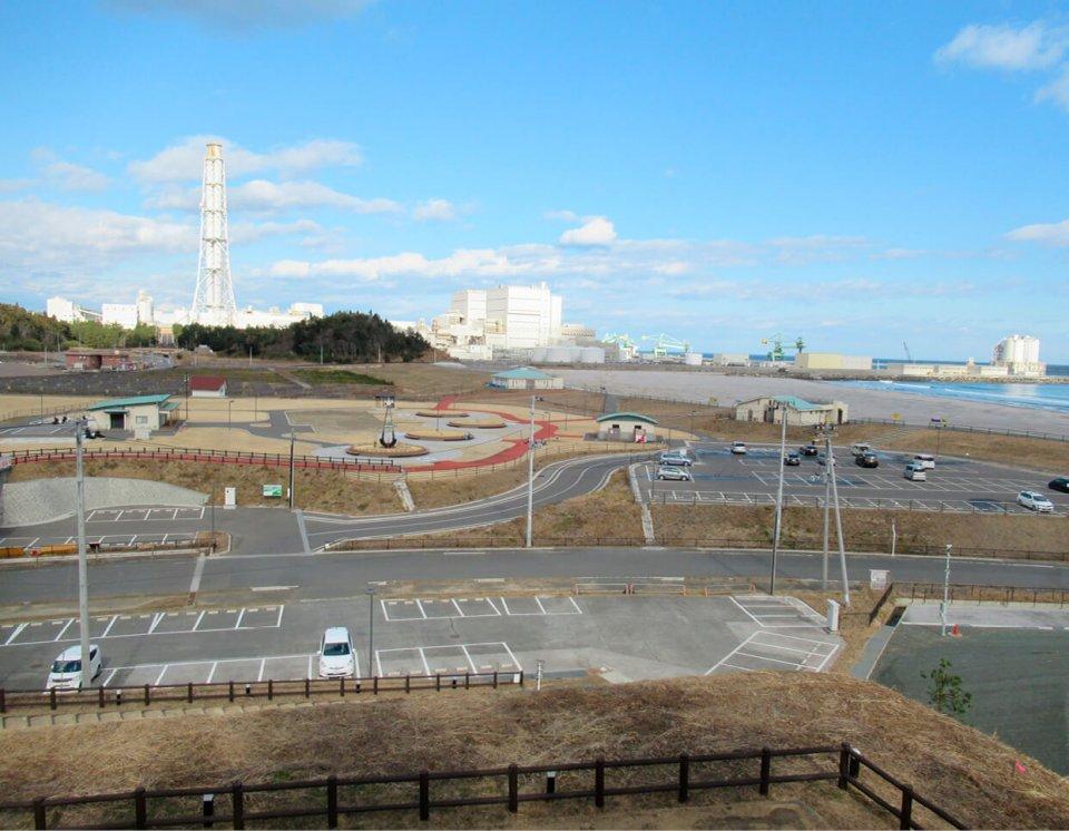 海沿いの北泉海浜総合公園は津波により大きな被害を受けたが、現在はすでに再整備されている