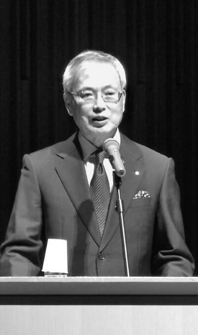 基調講演を行った日本商工会議所特別顧問の前田新造氏