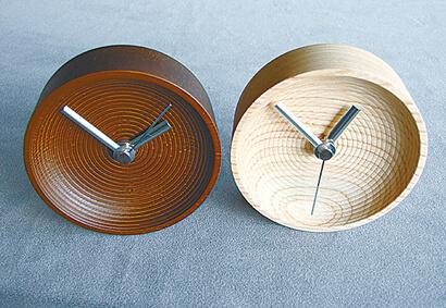 決定した山中漆器の置き時計