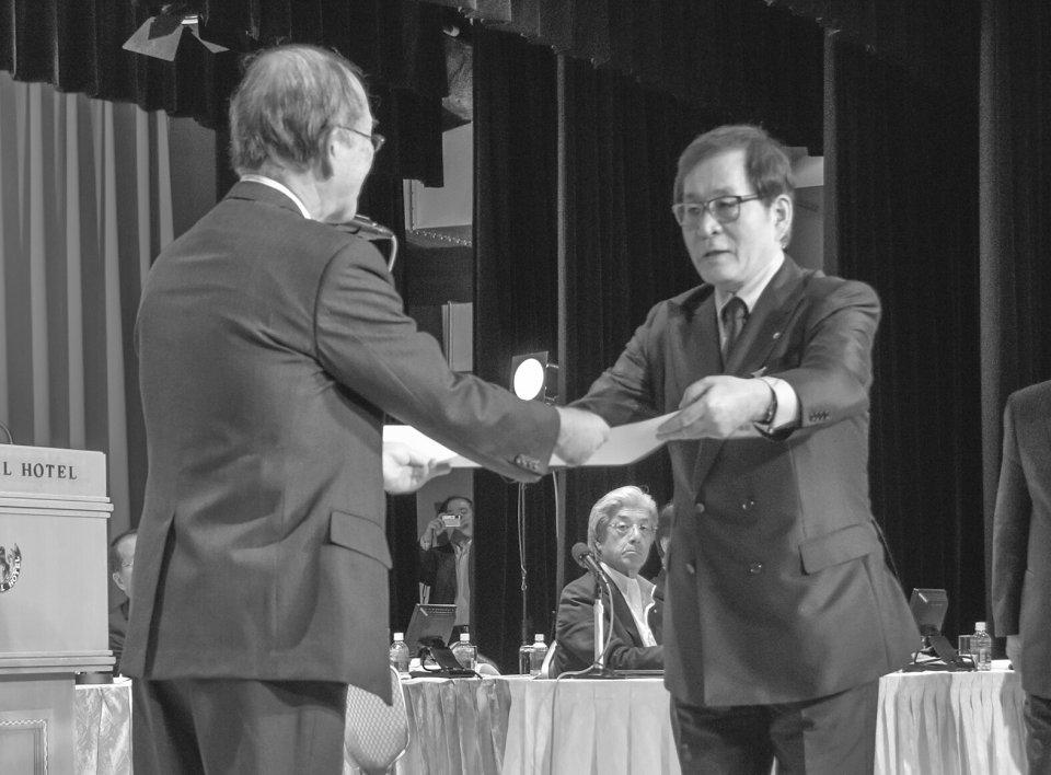 郡山・佐々木寛侑前専務理事(代理:滝田康雄会頭)
