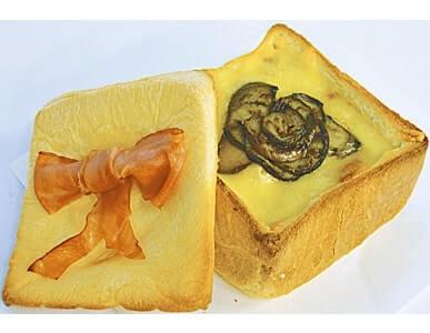 考案されたパンの例。「八千代市らしさ」にこだわり