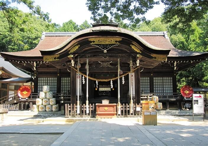 甲斐国の総鎮守・武田神社