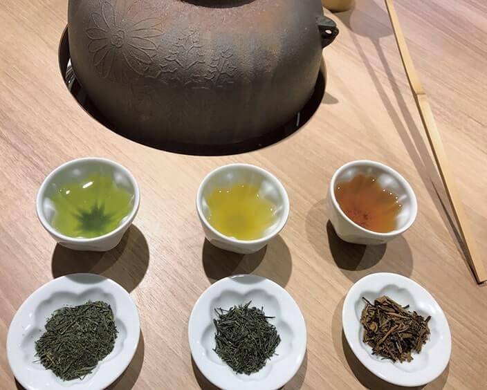 江戸創業の専門店で近江政所茶のきき茶体験