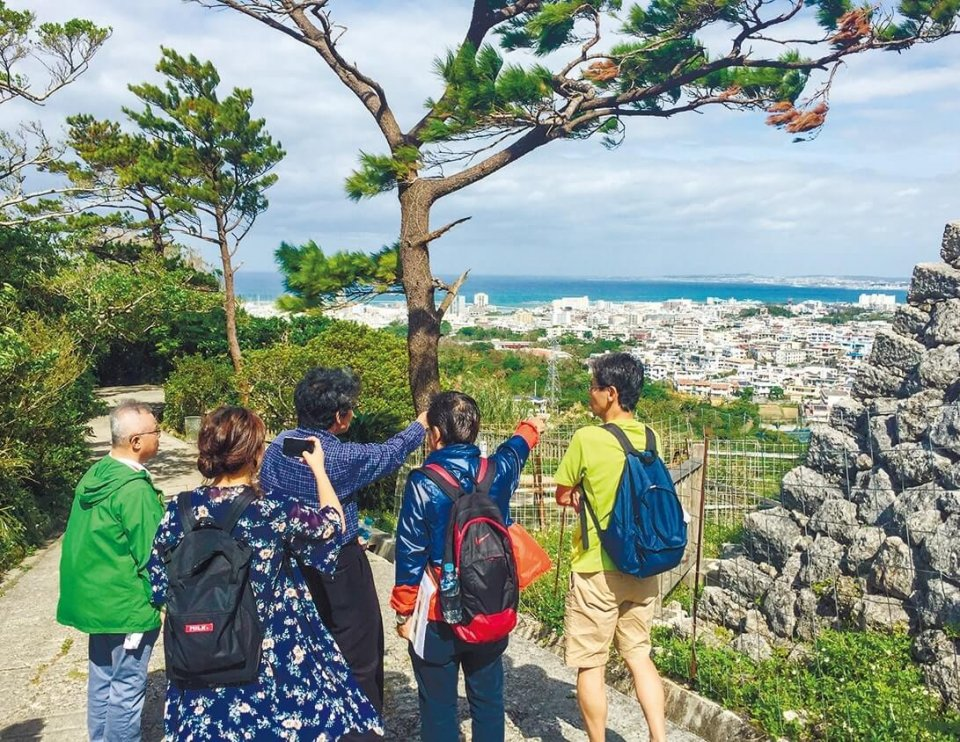 浦添の歴史的スポット巡り