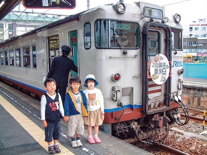 YEGの提案で始まった「昔ばなし列車」
