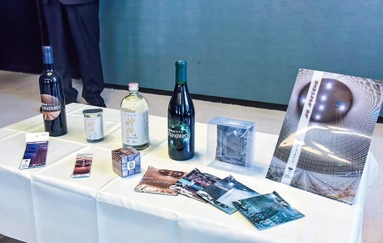 地酒、ワインなどの連携商品