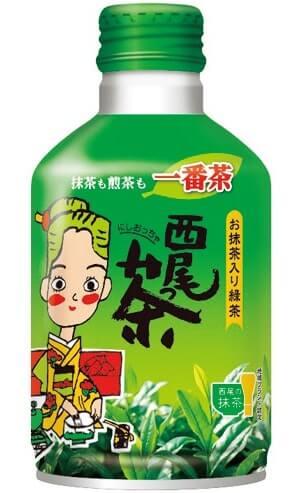 西尾っ茶(290グラム)130円(税込み)。7月中旬には新茶が登場