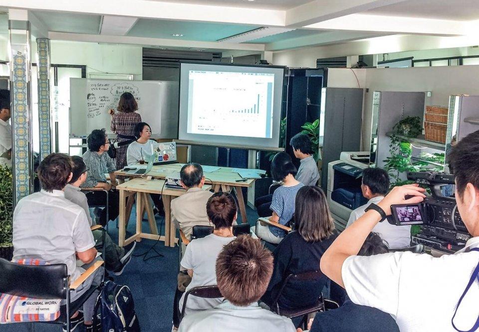 コワーキングスペースについて語り合ったトークライブ