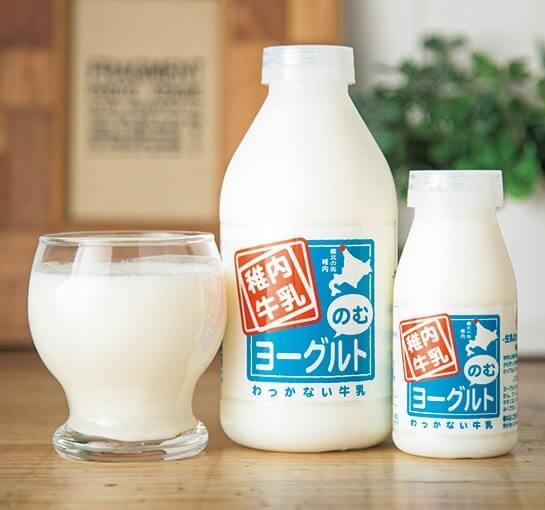 「稚内牛乳のむヨーグルト」
