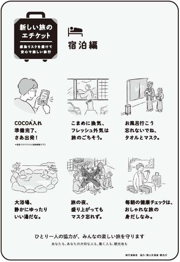 新しい旅のエチケット「宿泊編」