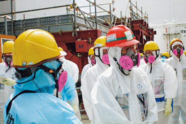 日商の三村会頭が東京電力・福島第一原子力発電所を視察