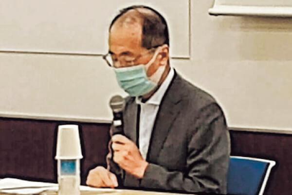 経済産業省の第6回「多核種除去設備等処理水の取り扱いに係る関係者の意見を伺う場」で、日商の久貝卓常務理事が意見陳述」