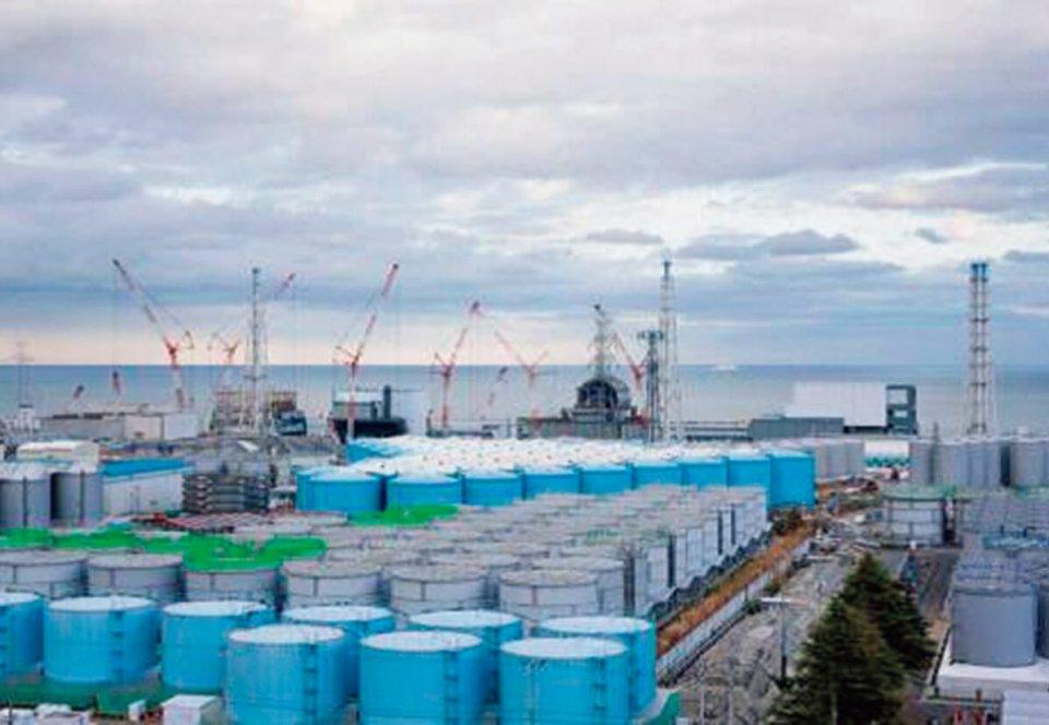 処理水貯蔵タンク(出所:東京電力HD)